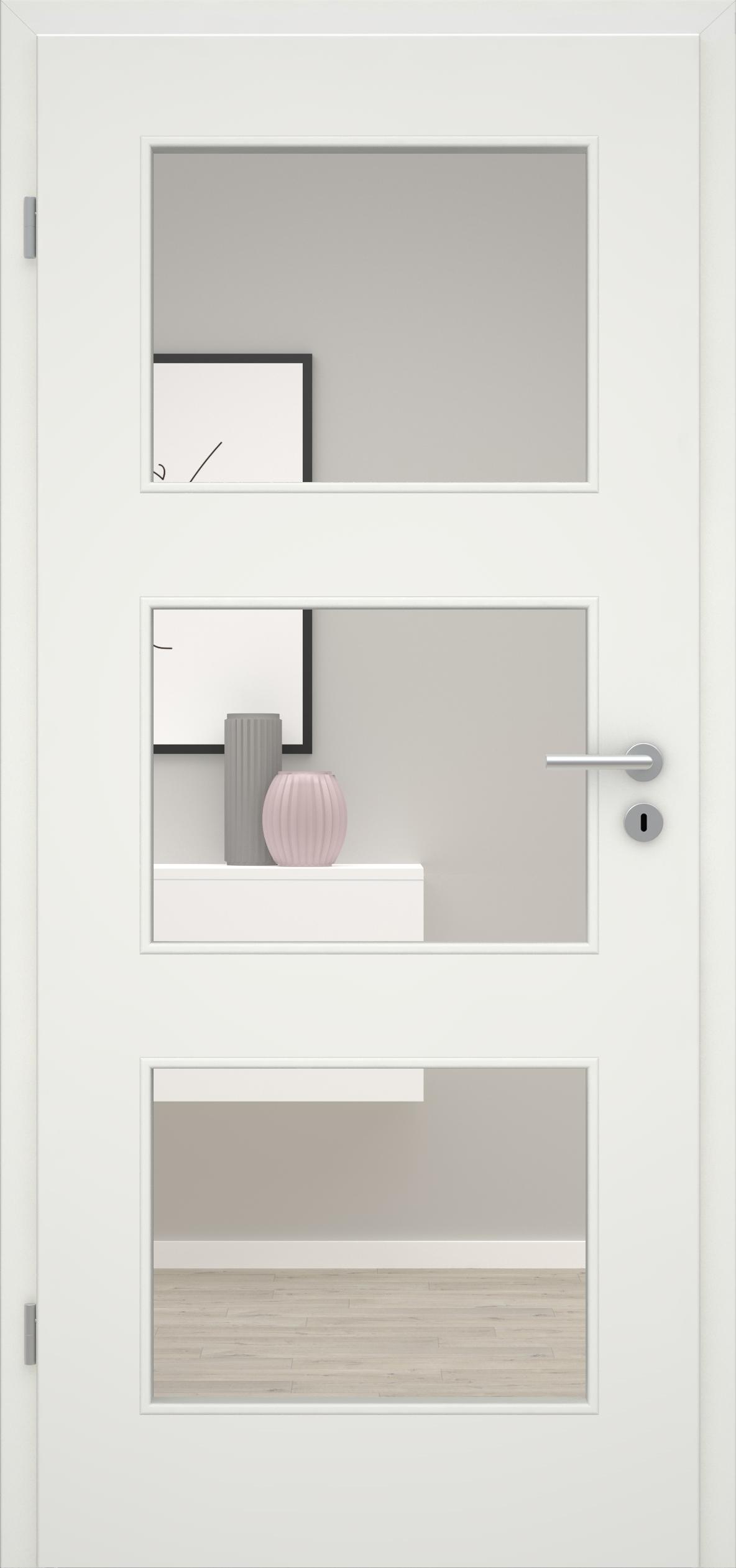 Glatte Tür Weißlack 1.0 LA 003