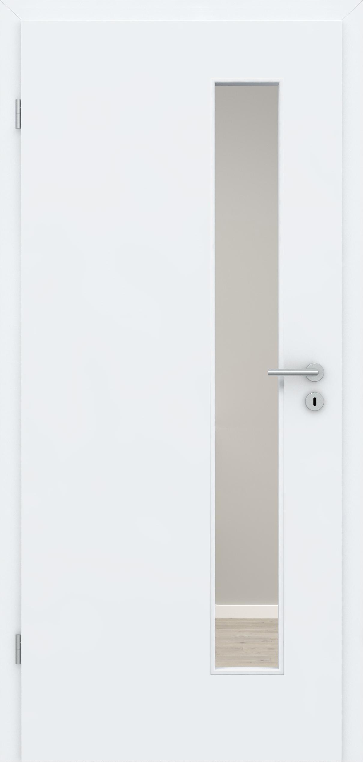 Glatte Tür Weißlack 3.0 LA 008 S