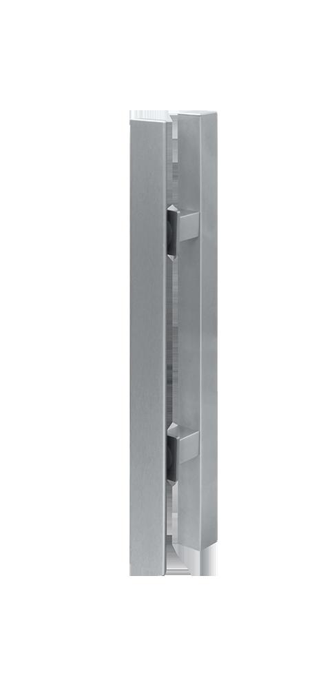 Griffstange- / Griffleiste eckig 400 mm