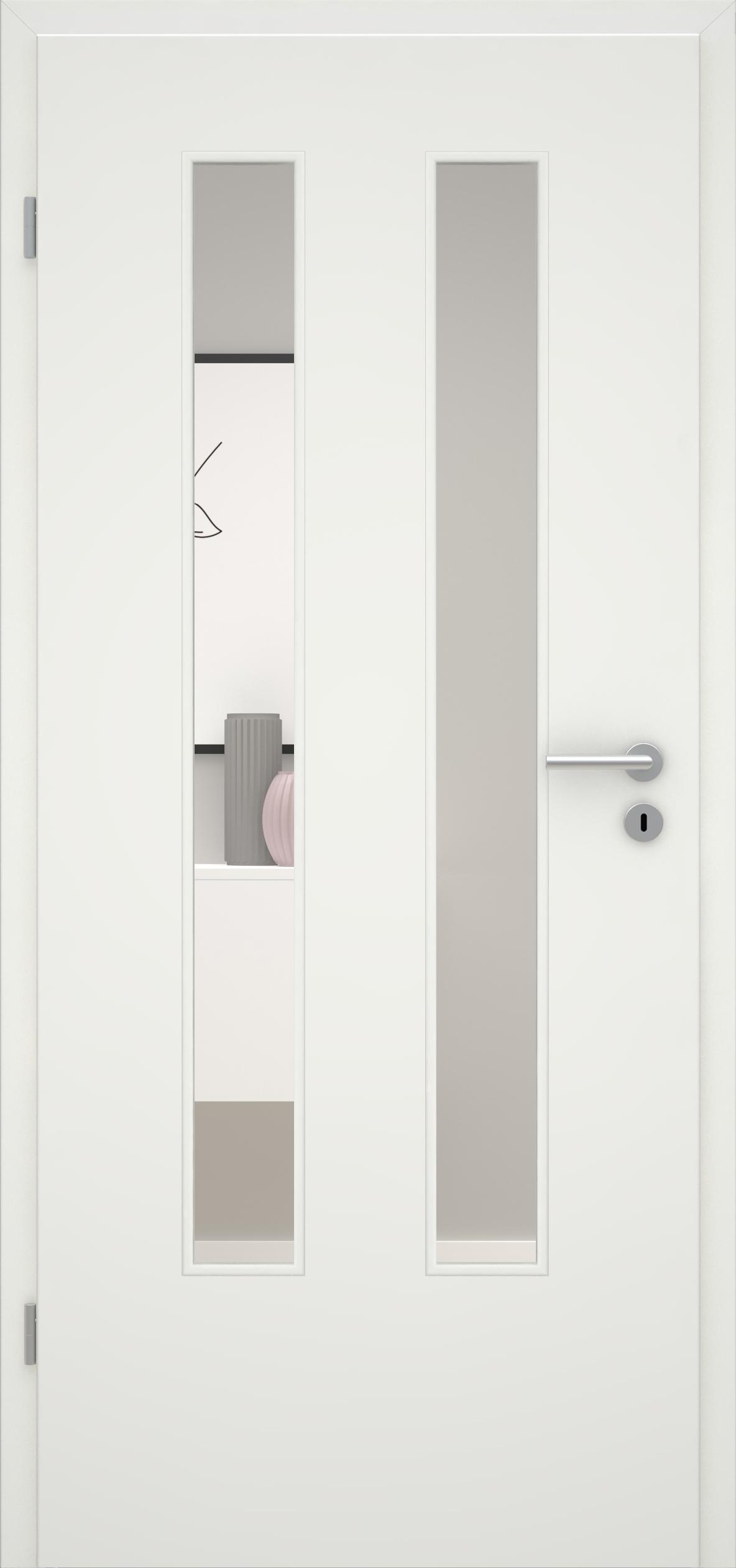 Glatte Tür Weißlack 1.0 LA 006