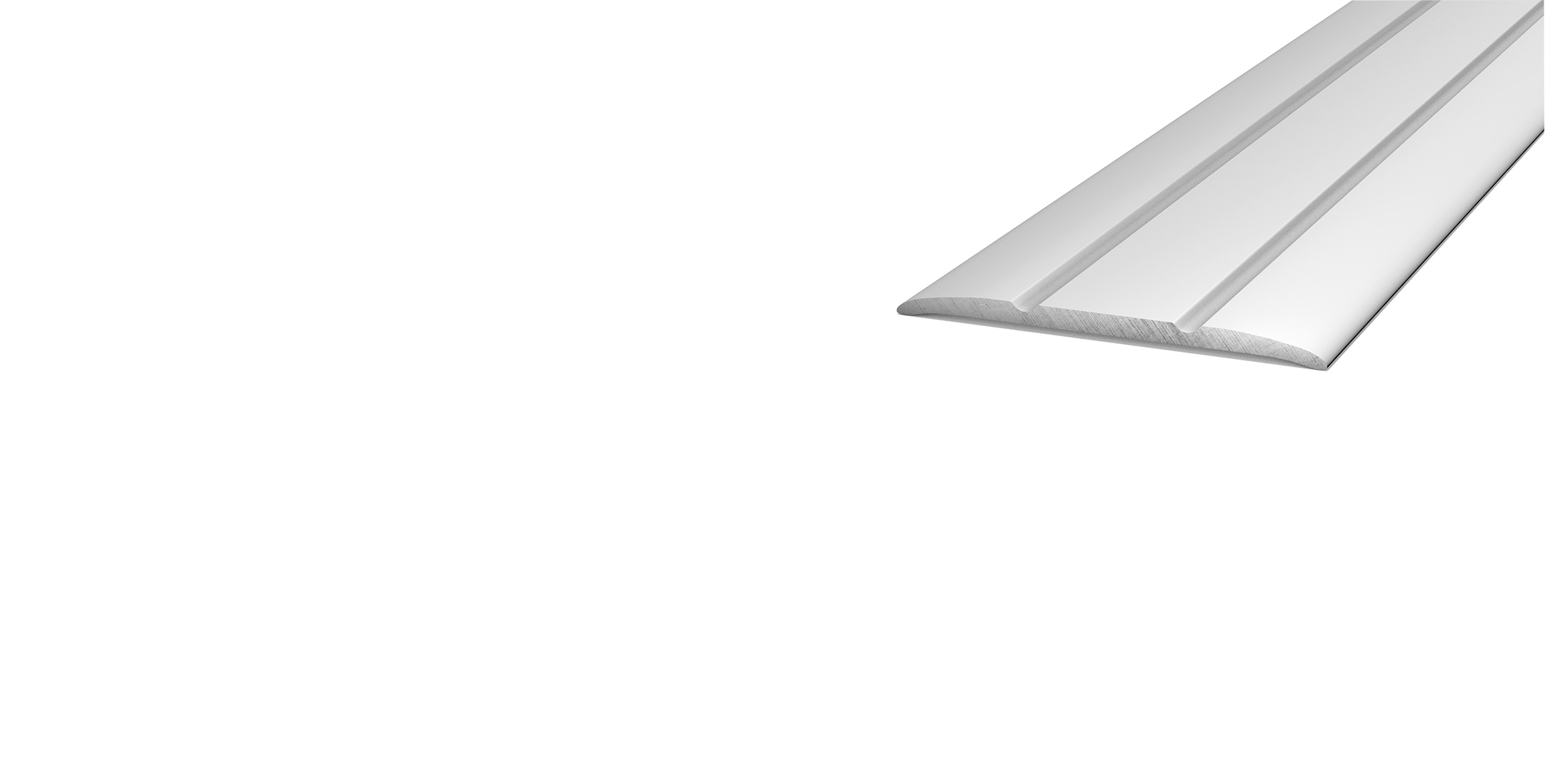 Design Übergangsprofil Silber