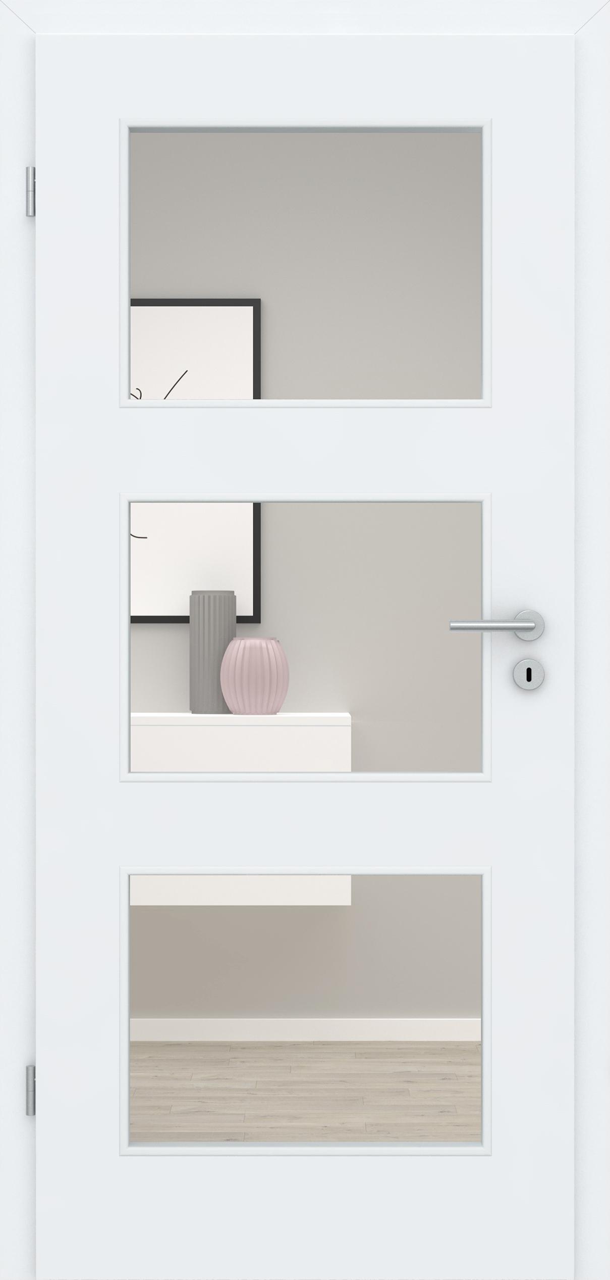 Glatte Tür Weißlack 3.0 LA 003