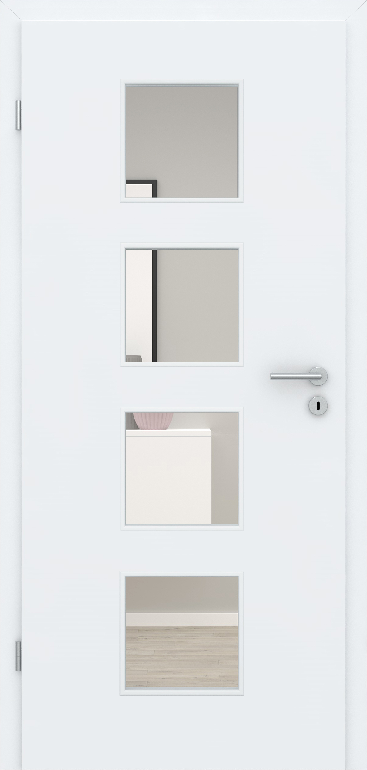 Glatte Tür Weißlack 3.0 LA 004