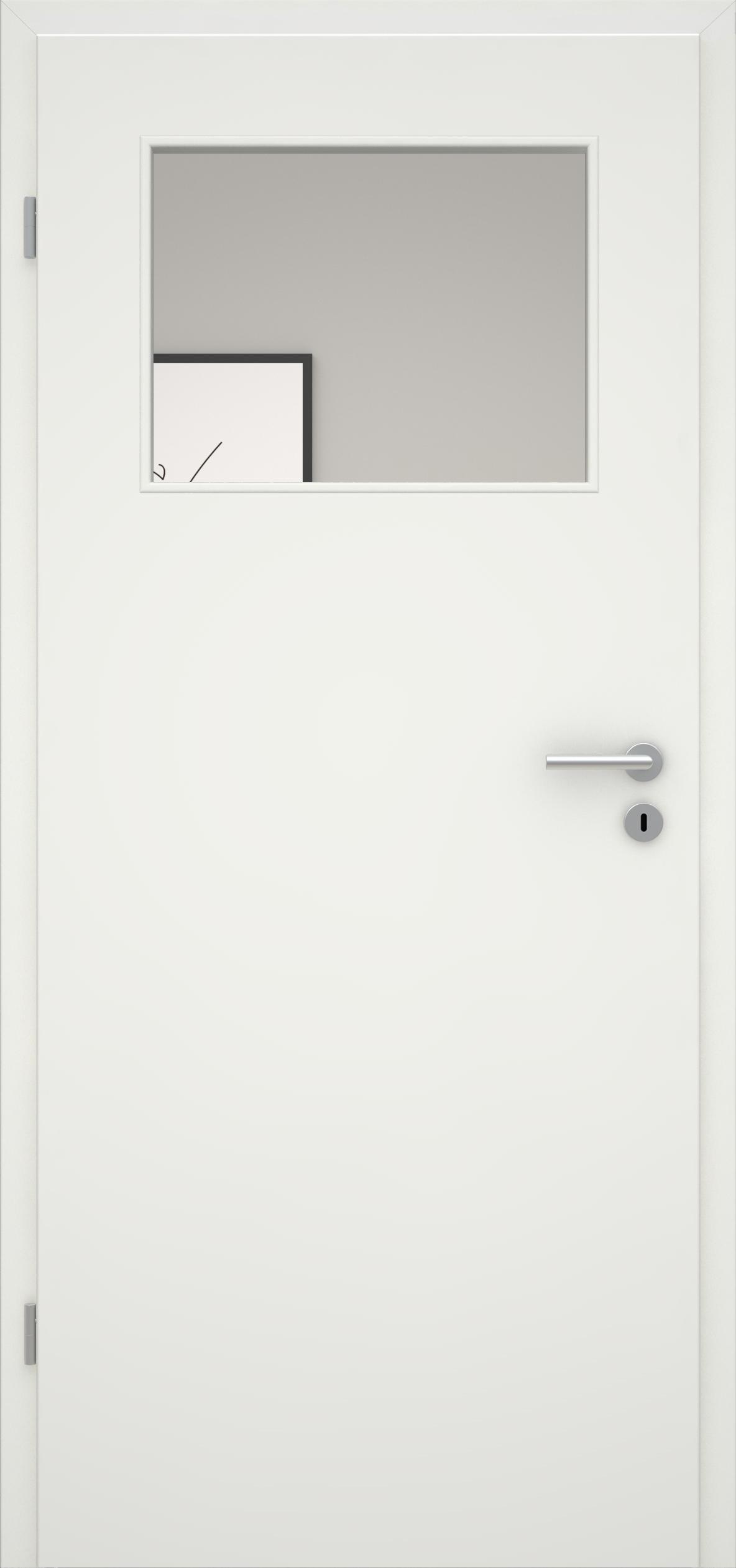 Glatte Tür Weißlack 1.0 LA 005