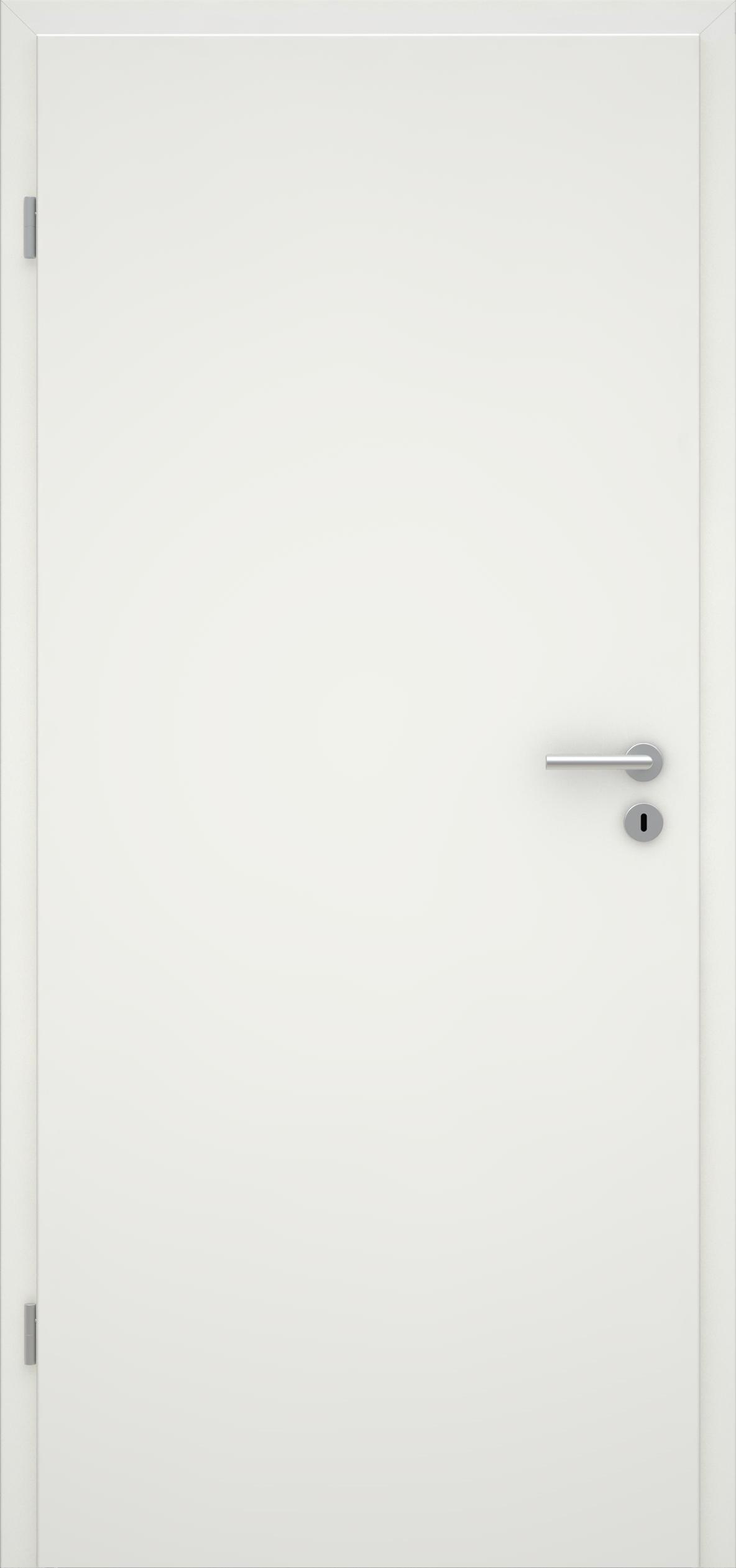 Glatte Tür Weißlack 1.0