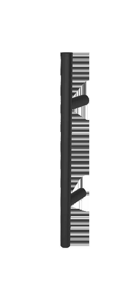 Griffstange rund Schwarz 400 mm
