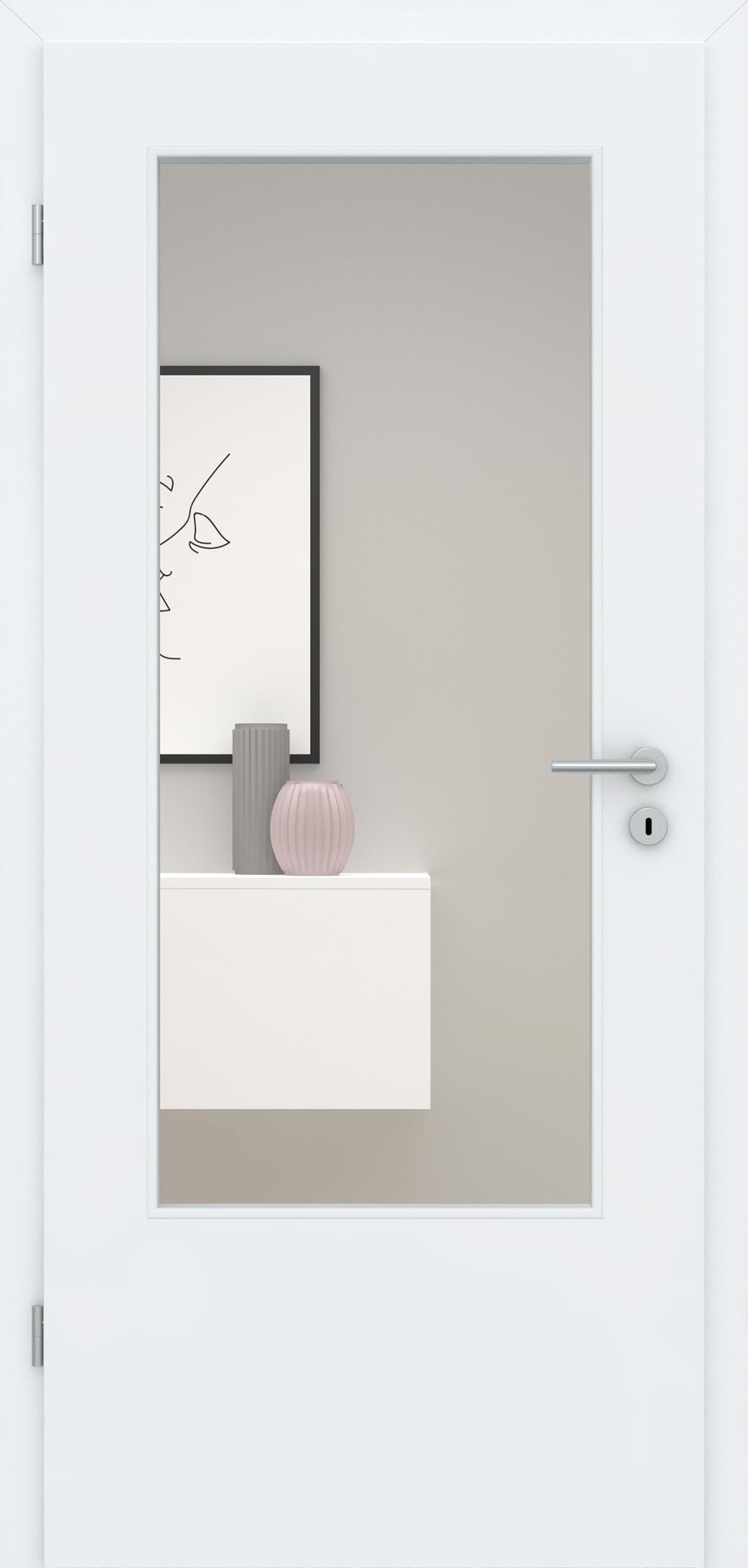 Glatte Tür Weißlack 3.0 LA DIN