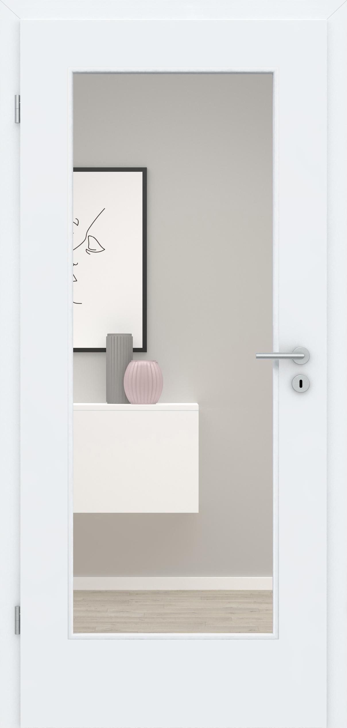 Glatte Tür Weißlack 3.0 LA 001
