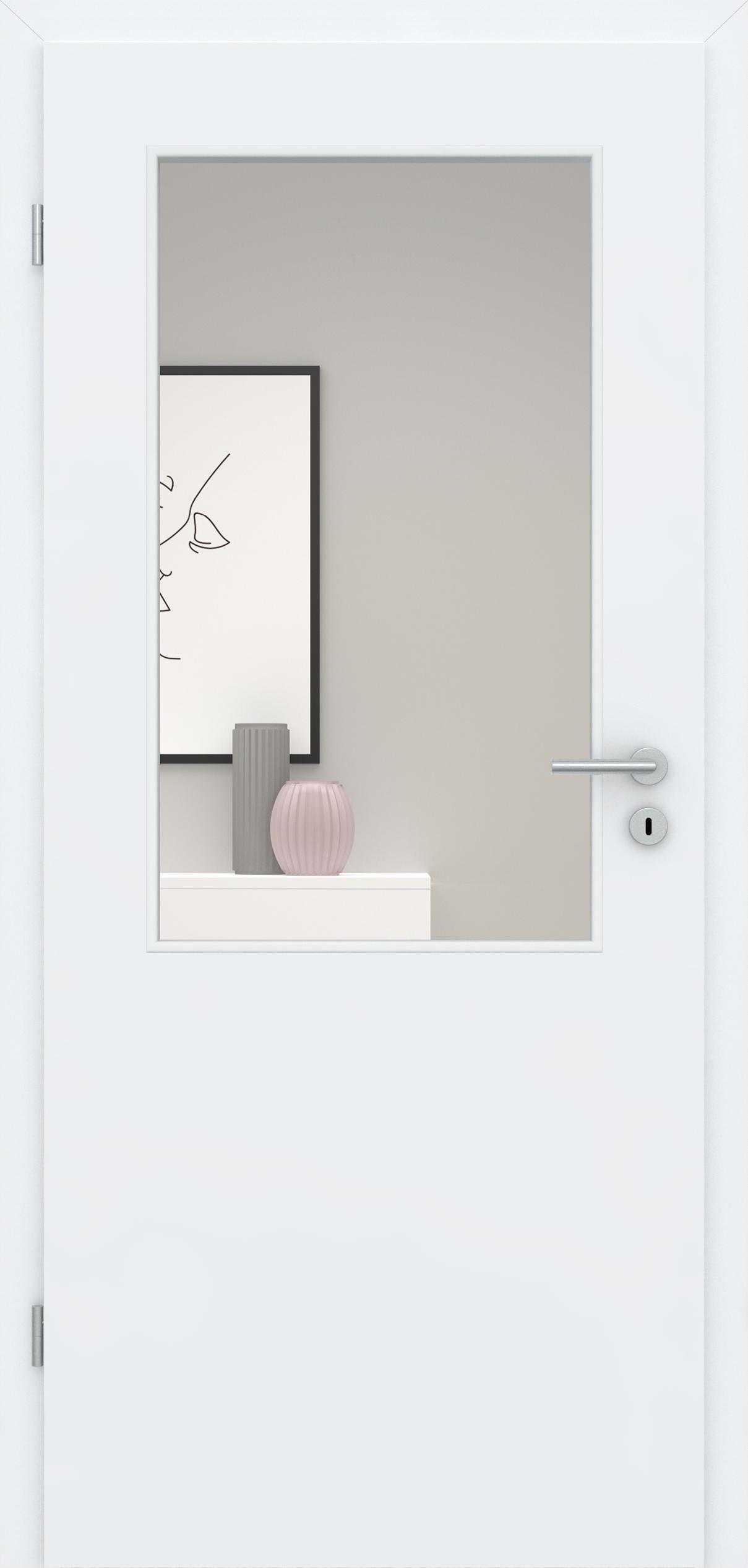 Glatte Tür Weißlack 3.0 LA 002