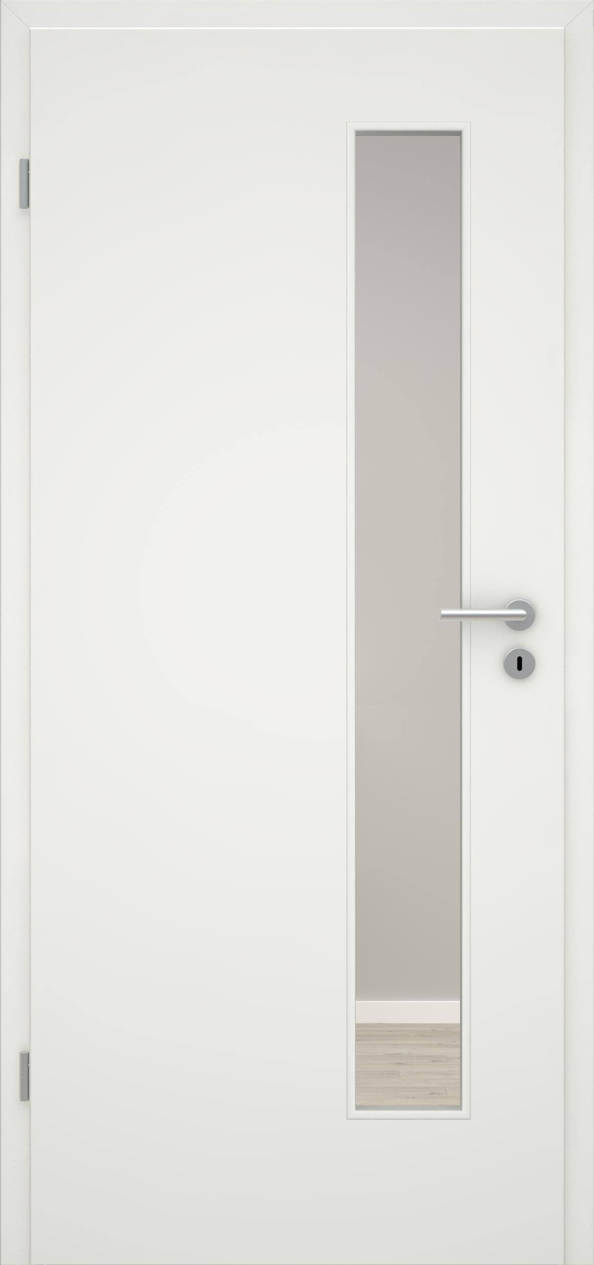 Glatte Tür Weißlack 1.0 LA 008 S